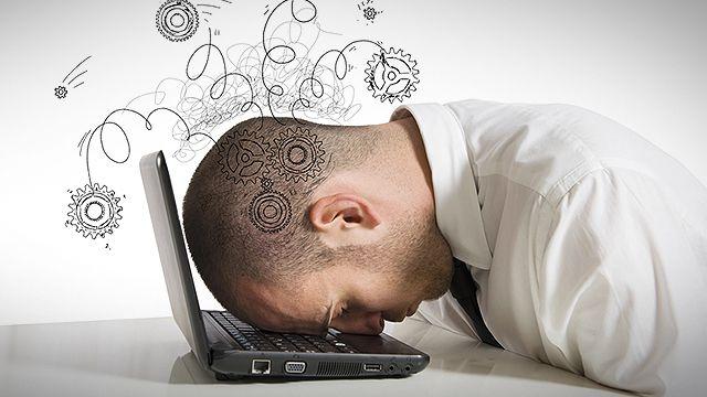 Freelancer stress